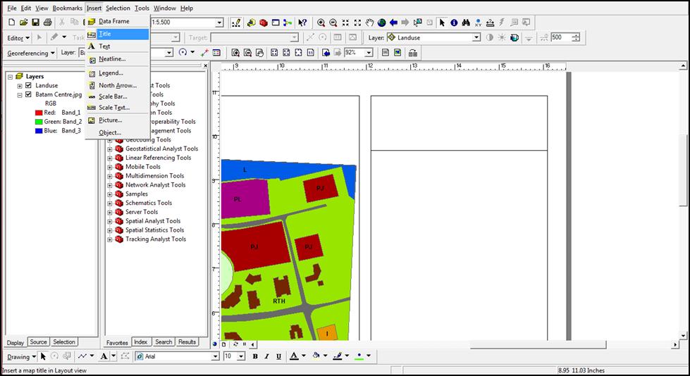 ArcMap – Coloring, Labeling & Export Map | RiskaHelman